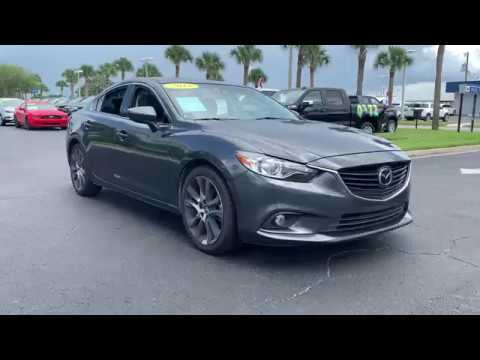 2015 Mazda Mazda6 Okeechobee, Port St. Lucie, West Palm Beach, Fort Pierce, Vero Beach, FL A9395B