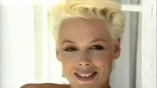 """""""BRIGITTE NIELSEN STALLONE """" 80's  Interview on Photoshoot For AnnaClub by Canale Moda"""