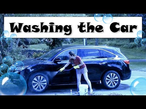 ??Washing the Car??A Summer Vocabulary Lesson with JenniferESL