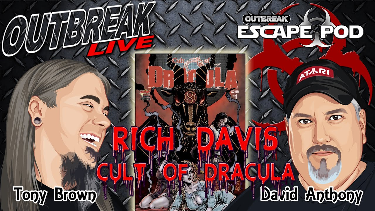 Escape Pod Interview with Rich Davis, creator of the horror comic Cult of Dracula