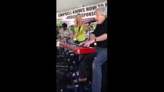 "Kickin the Mule at the 2014 Boogie on the Bayou doing ""Wild Thing"""