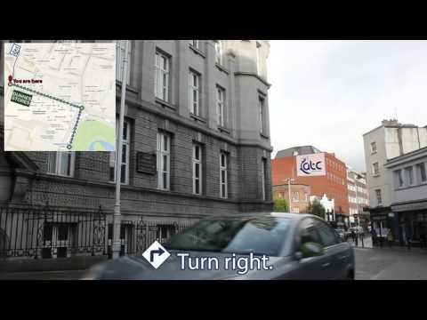 Luas Tram to ATC Dublin Navigation Guide