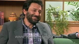 "Shekhar Kapur says ""He said Mogambo Khush Hua! and I thought Javed Akhtar has flipped"""