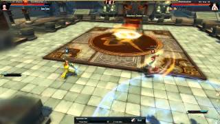 Swordsman Online: SunWukong (Shaolin) vs Rammustop (Wu-tang) | World vs Arena