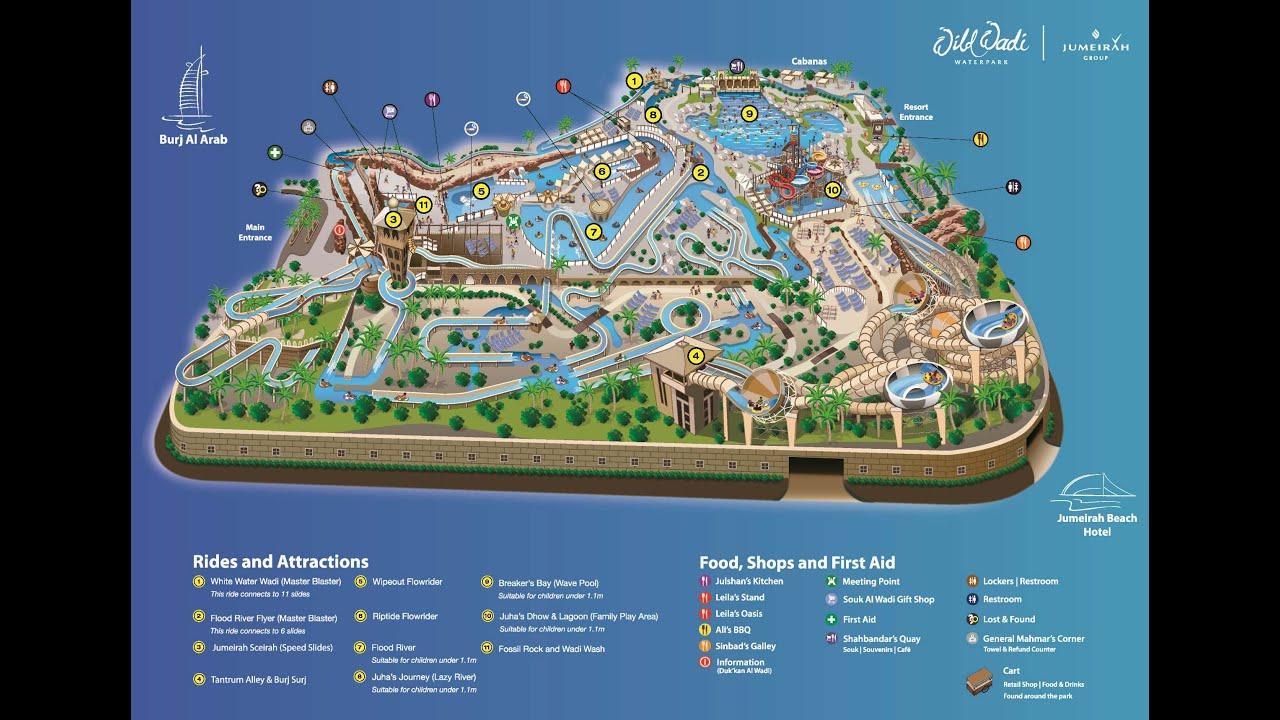 Dubai Wild Wadi Waterpark White Water Wadi Ringrutsche