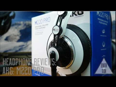 AKG M220 Pro Headphone Unboxing and Review