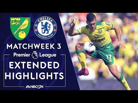 Norwich City v. Chelsea | PREMIER LEAGUE HIGHLIGHTS | 8/24/19 | NBC Sports