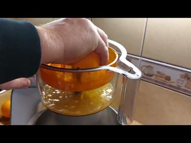 Bosch MUM5 robotgéppel narancs facsarás bemutatása