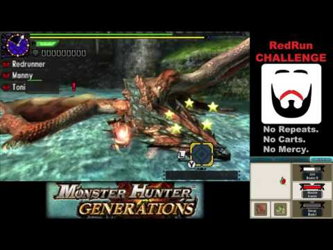 MHGen - RedRun Challenge Episode 65: A Small Pair