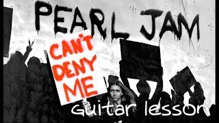 Baixar PEARL JAM - You can't deny me - Guitar Lesson