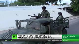 Hombre que dice ser 'El Mencho', líder del CJNG, lanza amenazas a la Guardia Nacional de México