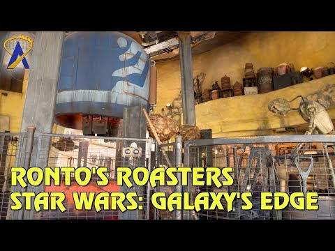 Ronto Roasters Restaurant at Star Wars: Galaxy's Edge