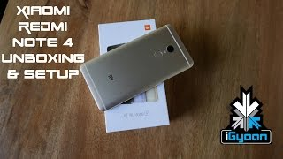 Xiaomi Redmi Note 4 Unboxing and Setup , Install Google Play - iGyaan