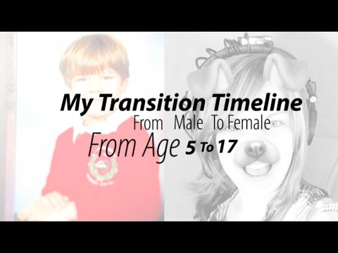 MtF Transgender Timeline ★ Hannah Phillips Real ★
