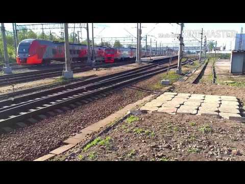 Станция Клин и электрички 8