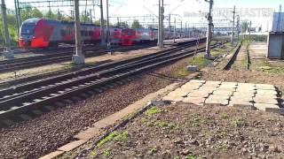 �������� ���� Станция Клин и электрички 8 ������