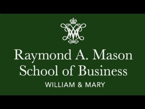 2018 William & Mary Mason School of Business Graduate Studies Commencement