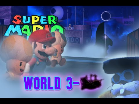 Super Mario Plush World 3-Airships