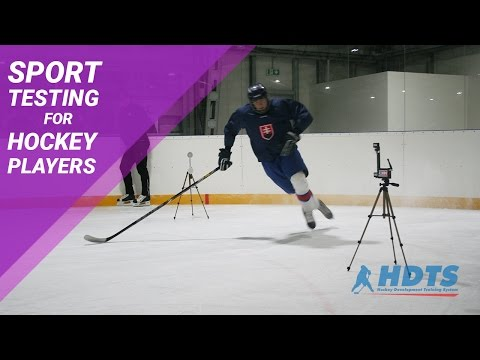 Hockey players testing | Sport Testing HDTS