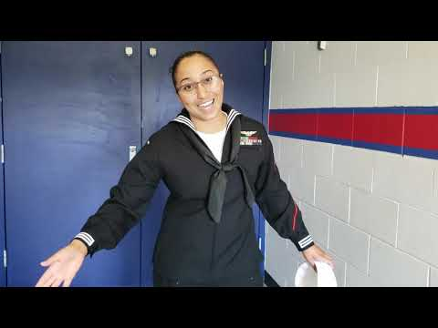 Navy Dress Blues Uniform For Women & Men (Sailor Vlog Ep. 8)