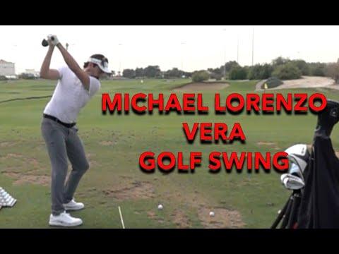 MICHAEL LORENZO VERA SLOW MOTION GOLF SWING