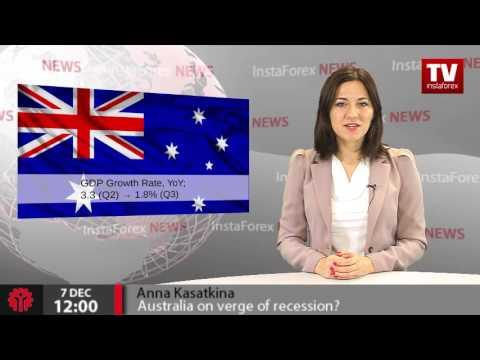 Australia on verge of recession?