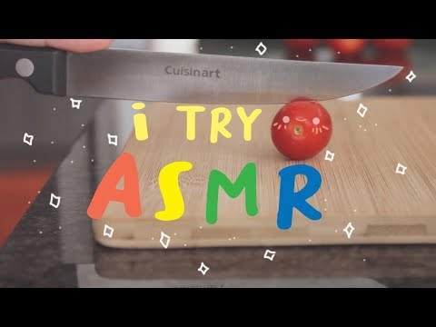 i attempt ASMR for the first time!