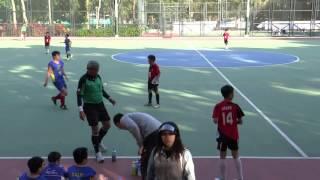 2015/11/26 梁潔華vs劉德(上半)小學校際9人足球