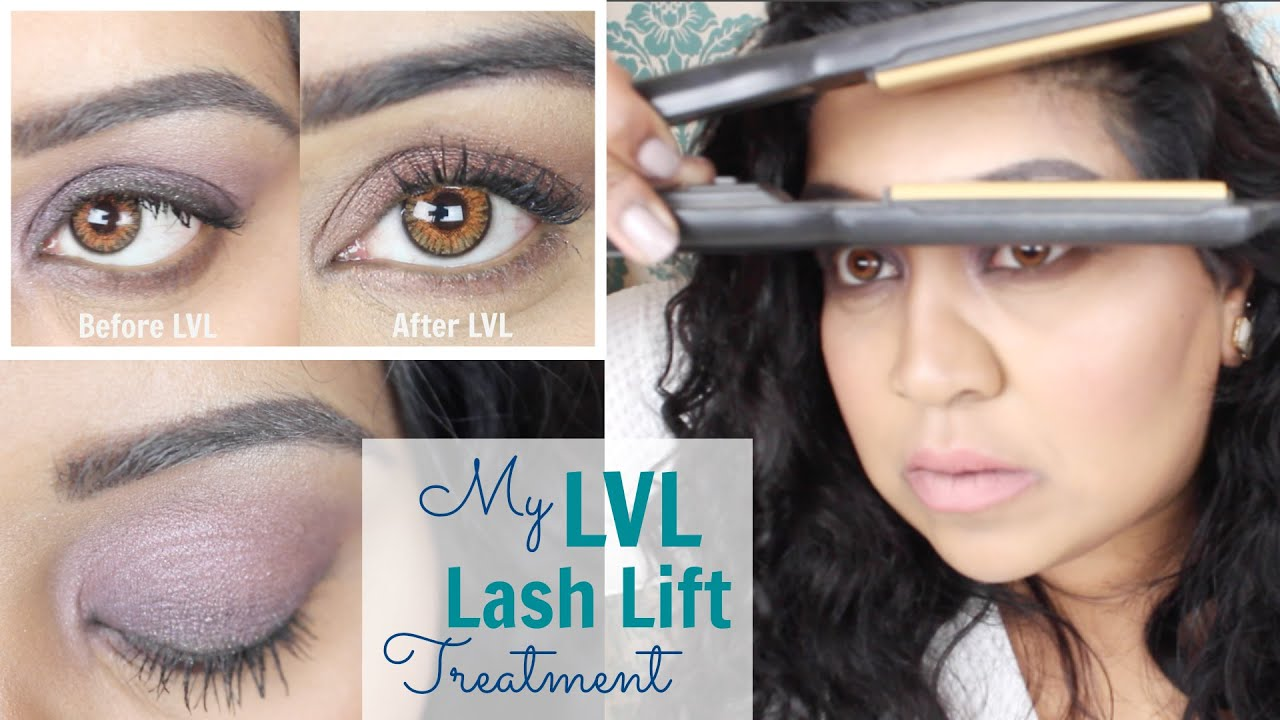 My lvl lash lift treatment nishi v youtube solutioingenieria Choice Image
