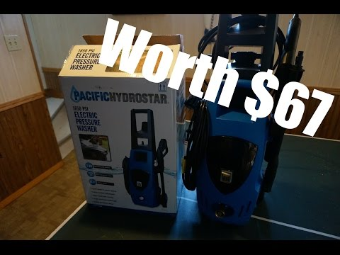 Harbor Freight Power Washer