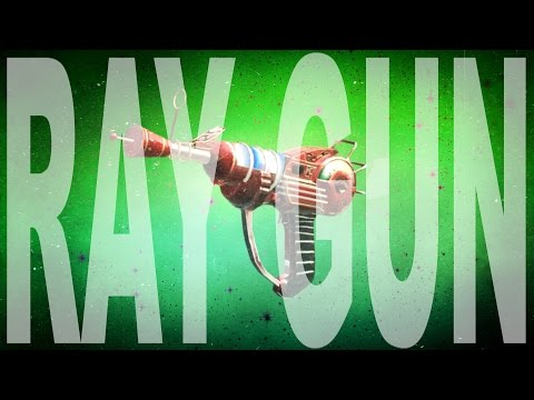 How To Make The Ray Gun!