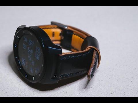 making a cordovan watch strap