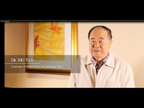 Interview with Dr. Mo Yan 訪問莫言博士