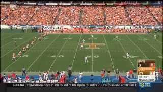 NCAAF  / Week 01 /  05.09.2015 /  Bowling Green Falcons @ (25) Tennessee Volunteers