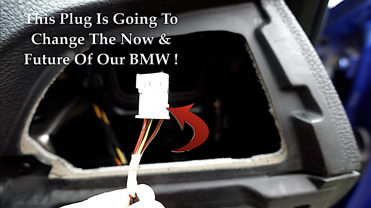 This **Factory Hidden Plug** Is About To Change Everything For BMW Owner's