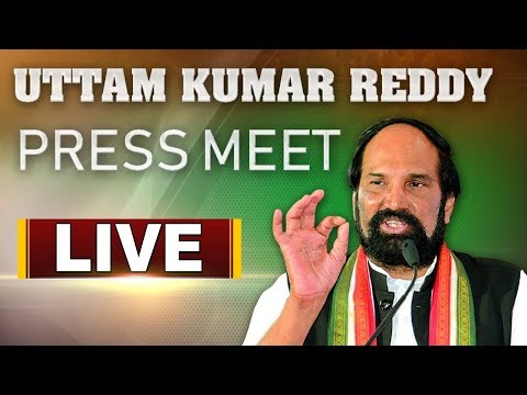 TPCC Chief Uttam Kumar Reddy Press Meet LIVE  | ABN LIVE
