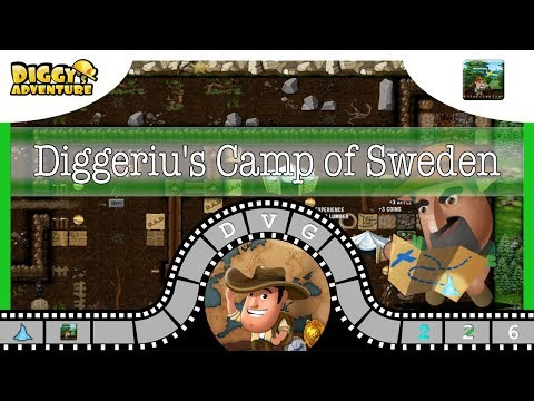 [~Scandinavia Father~] #6 Diggeriu's Camp of Sweden - Diggy's Adventure
