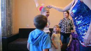 День рождения очаровательной Светочки, 3 годика, шоу мыльных пузырей на детском празднике
