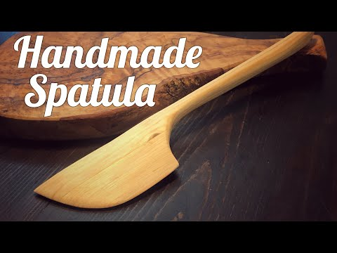 Making a Wooden Spatula