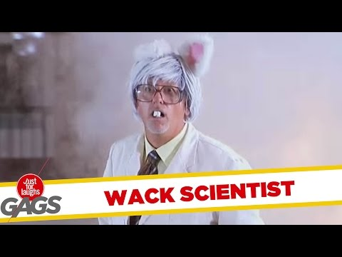 Wacky Mad Scientist Pranks - Best of Just for Laughs Gags