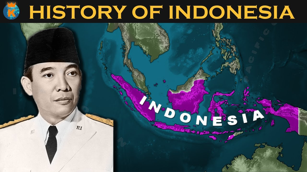History Of Indonesia In 12 Minutes Youtube