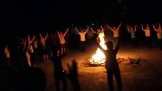 Được làm con Chúa - Múa tập thể đêm lửa trại