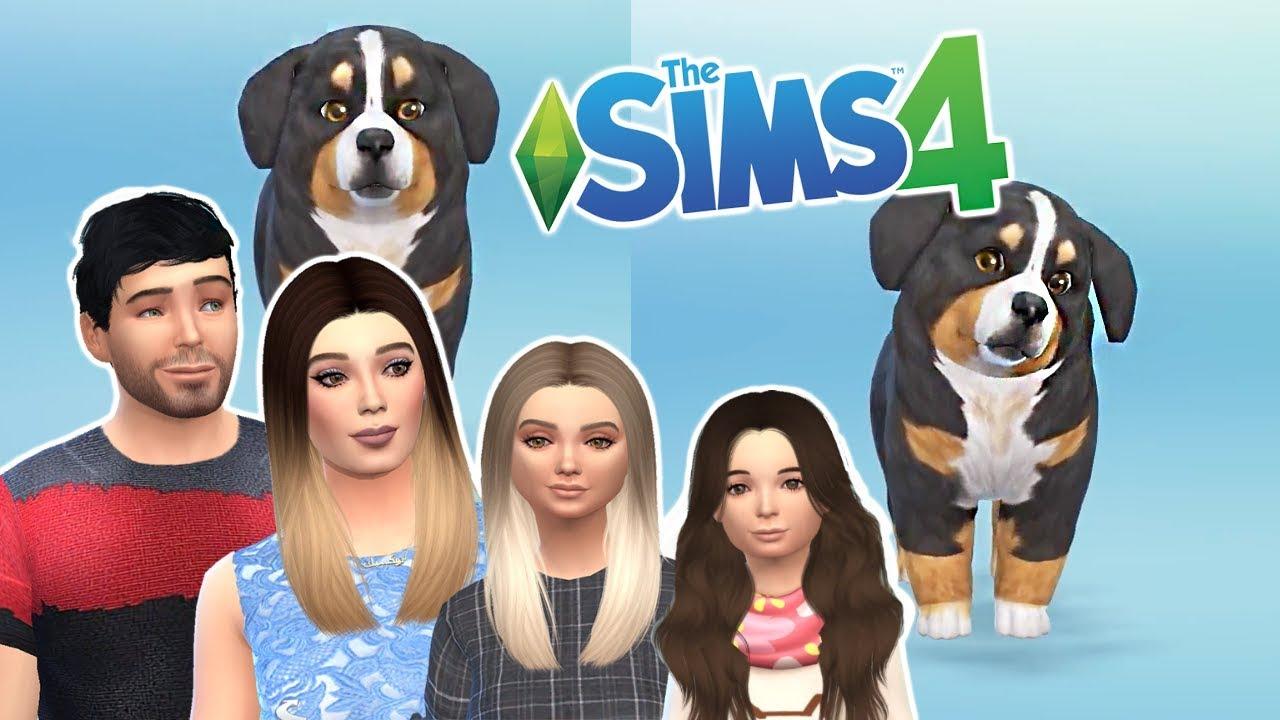 the sims cucciolo