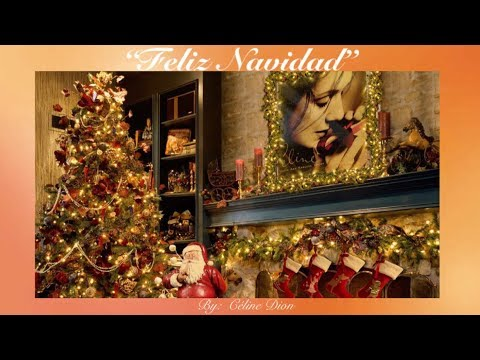 Feliz Navidad W Lyrics Celine Dion Youtube