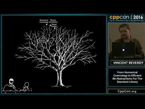 "CppCon 2016: ""From Numerical Cosmology to Efficient Bit Abstractions for the Standard Library"""