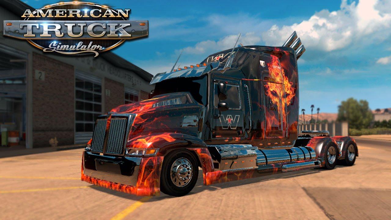 american truck simulator 4000 hp optimums prime youtube. Black Bedroom Furniture Sets. Home Design Ideas