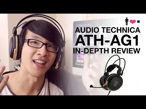 Audio Technica ATH-AG1 Gaming Headset In-Depth Review