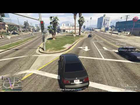 clean and professional driving - GTA V