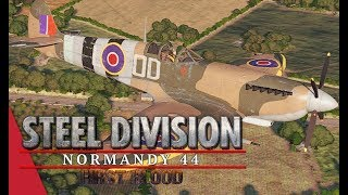 (SD League Europe Code S) Herr Robert vs Gonzo, Game 1! Steel Division: Normandy 44