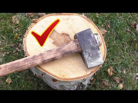 Как сделать колун для дров самому